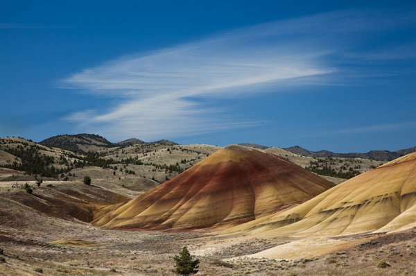 24.. Painted Hills, Oregon