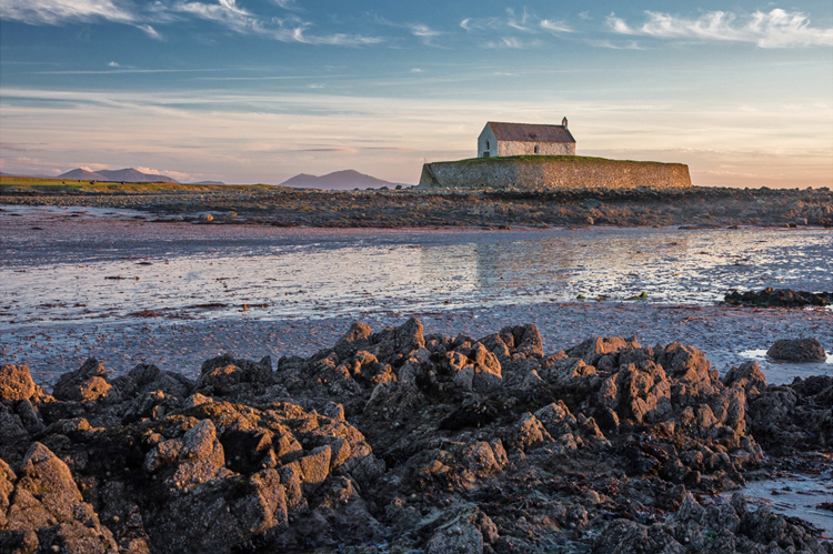 7.  St Cwyfan's,    Anglesey,    Wales