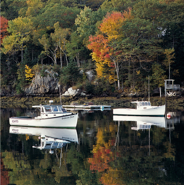 13.  Boothbay Harbour,  Maine