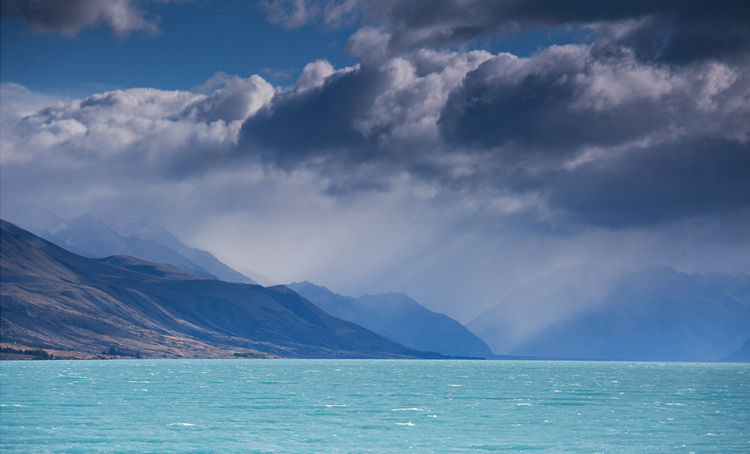 34.  Morning on Lake Pukaki